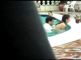 Couple Spied Fucking In A Public Pool