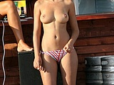 Topless Beach Hot Pics