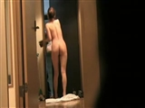 Asian Pussy Flashes At The Door Secret Camera