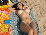 Hot Amazing Woman Totally Nude At Beach Hot Photo