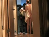 Video Girl Flashes To Pizza Delivery Guy