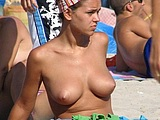 Sexy Topless Photo Taken At The Beach