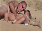 Amateur Couple Voyeur Video Caught Fucking On Beach