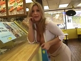 Hot Voyeur Secret Tape Sexy Lady Flashing In Store