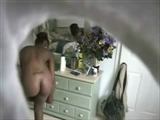 Perfect Nude Body of Black Lady Filmed with Hidden Camera