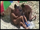 Voyeur Swinger Couples Fucking at Beach Caught on Video