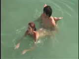Secret Voyeur Beach Sex Video Couple Filmed Fucking in Water
