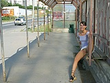 Public Nudity Gallery Cute Russian Girl Flashes Pussy
