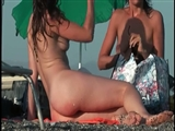 French Nudist Beach Video Hot Naked Girl Spied on Voyeur Cam