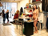 Girls Flashing Nipples and Pussy In Store Pics