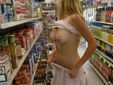 Caught Nude At The Shops Pictures
