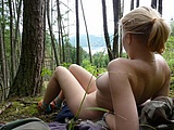 Hot Girl Naked in the Woods Pictures