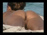 Voyeur Camera at Beach Filming Nude Girls
