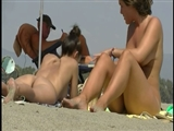 Two Hot Pussies at the Beach Filmed Naked on Voyeur Camera
