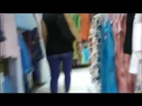 Candid Voyeur Camera in Mall Films Sexy Butt In Yoga Pants