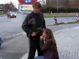Outrageous Public Sex Video of Hot Girl Blowing Cock