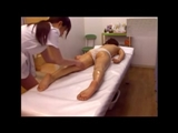 Hidden Sex Massage Video of Naked Girl Stimulated by Masseuse