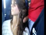 Hot Girl Dick Flashed in the Bus