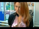 Public Cam at Work Russian Girl Makes Nude Show