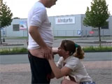 Dutch Couple Fucking in Public Places