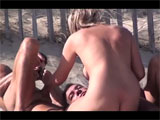 Voyeur Nudist French Adults Make Sex at the Beach