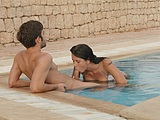 Couple Oral Sex Outdoors at the Pool - Voyeur Pictures