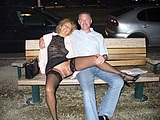 Mature Wife Flashes Pussy in Public - Voyeur Pictures
