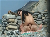 Voyeur Nudist Sex at the Beach Caught on Camera