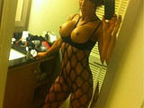 Hot brunette with big tits in homemade selfshot - Voyeur Pictures