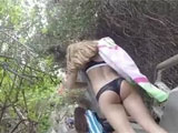 Hidden Candid Camera Filming Sexy Bikini Asses
