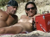 Mature Nudist Couple at Beach