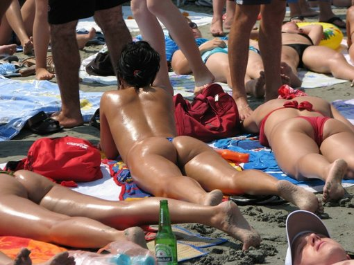 Young Bum Beach Hot Ass Photo Voyeur Real Australia