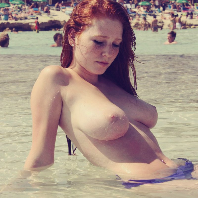 Mujeres Desnudas Playa intermitente Fotos Amateur