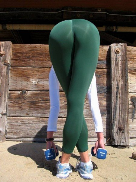 Yoga Ass Picture of Girl Working Out