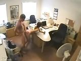 Office Sex Caught On Spy Cam
