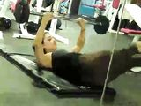 Horny Guy Spying Hot Girl In Tight Pants At Gym
