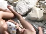 Nudists Beach Wife Gives Handjob And Blowjob