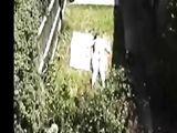 Spying My Neighbors Girlfriend Doing Topless Sunbath
