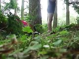 First Time Fucking In The Forest On Voyeur Cam Tape