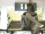 Voyeur Hidden Cam Films Woman Flashing Her Pussy