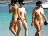 Nude Beach Big Tits Women Walking Video Clip