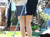 Hidden Camera Upskirt Video