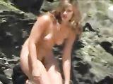 Voyeur Caméra Pris sur Nudists Vidéo Real Beach