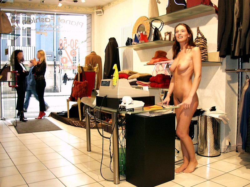 Suggest Girls naked in public shops can recommend