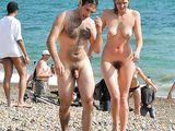 Pictures Of Nude Couples Having Fun On The Beach