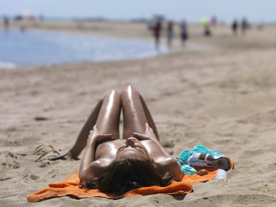 Amateur beach topless remarkable