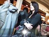 Candid Camera Video meisje met Sexy Ass Voyeur Cam bespied