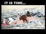 Beach Voyeur Videos von Nude Amateur Paare auf Kamera gefilmt