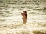 Beach Voyeur Chick Filmed Topless