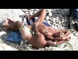 Naked Couple Caught Fucking on the Beach by Voyeur Camera